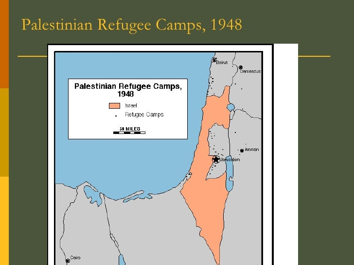 Palestinian Refugee Camps, 1948