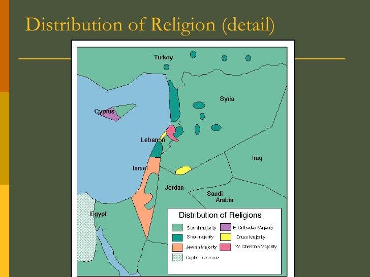 Distribution of Religion (detail)