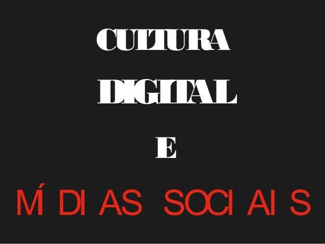 CULTURADIGITALEMÍ DI AS SOCI AI S