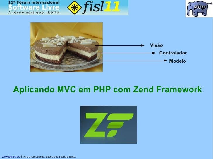 Palestra Zend Framework FISL XI