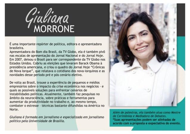 Palestra  - Giuliana Morrone - DMT Palestras