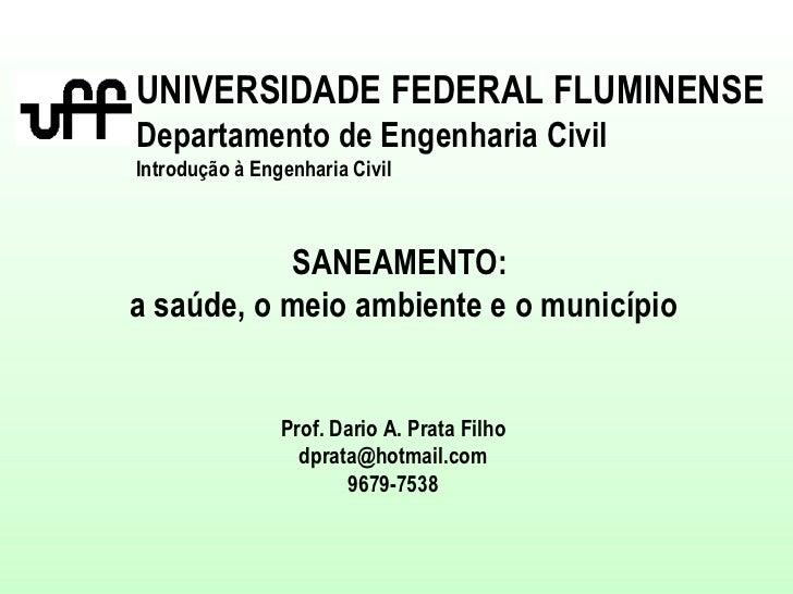 Palestra introdução a eng-civil