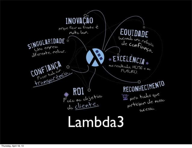 Lambda3Thursday, April 18, 13