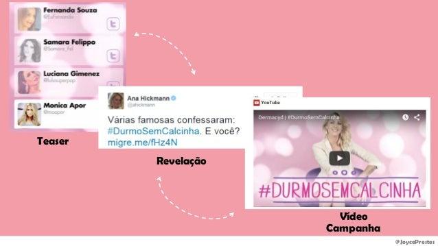 @JoycePrestes Teaser Revelação Vídeo Campanha