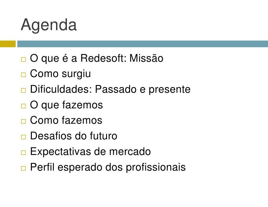 Apresentação da RedeSoft Slide 3