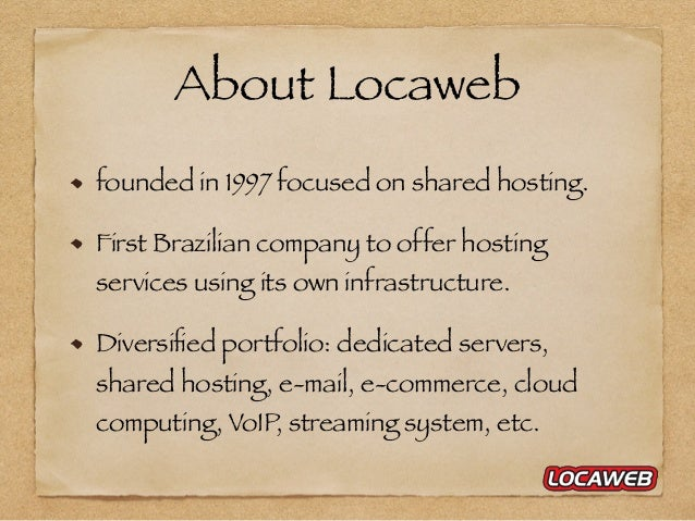 How does a big shared web hosting environment work? Slide 3