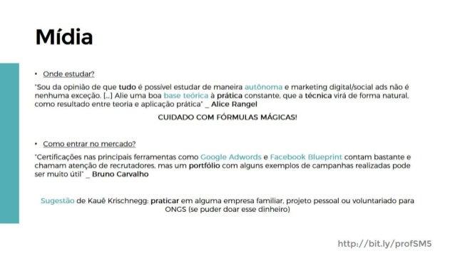 [SMWSP17] Profissão Social Media: da teoria à prática