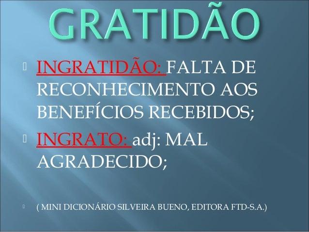 Palestra 2 Gratidão