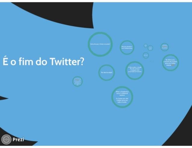 Você . m. qu:  u Mm  nas ; ou otimista e (um vundamnms,      Nu úklmo : na a número de usuanos Ativos do Twitter cresceu  ...