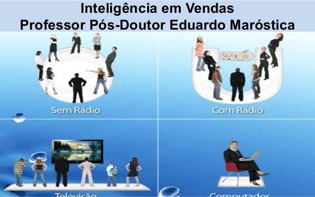 Inteligência em VendasProfessor Pós-Doutor Eduardo Maróstica