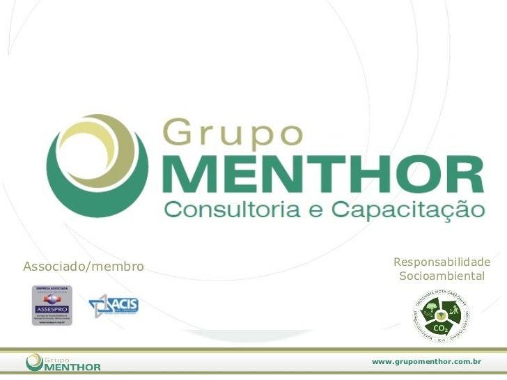 Associado/membro Responsabilidade Socioambiental