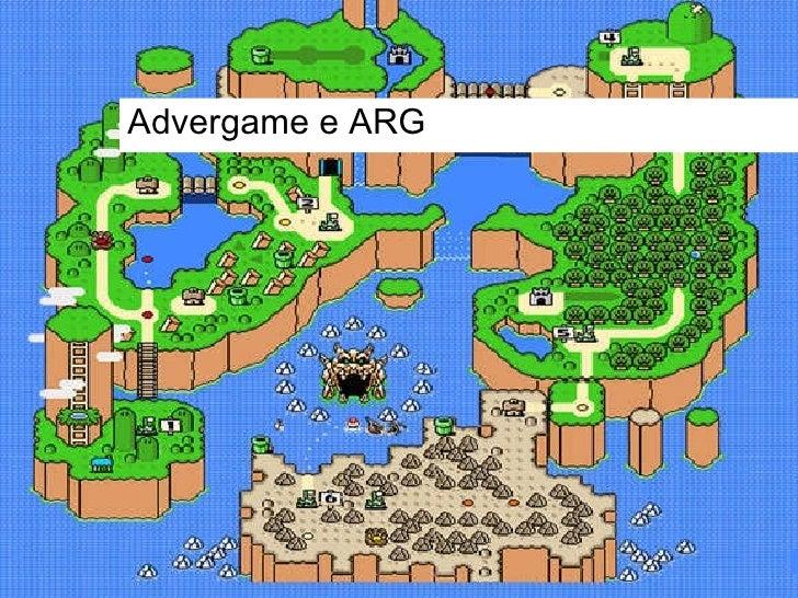 Advergame e ARG