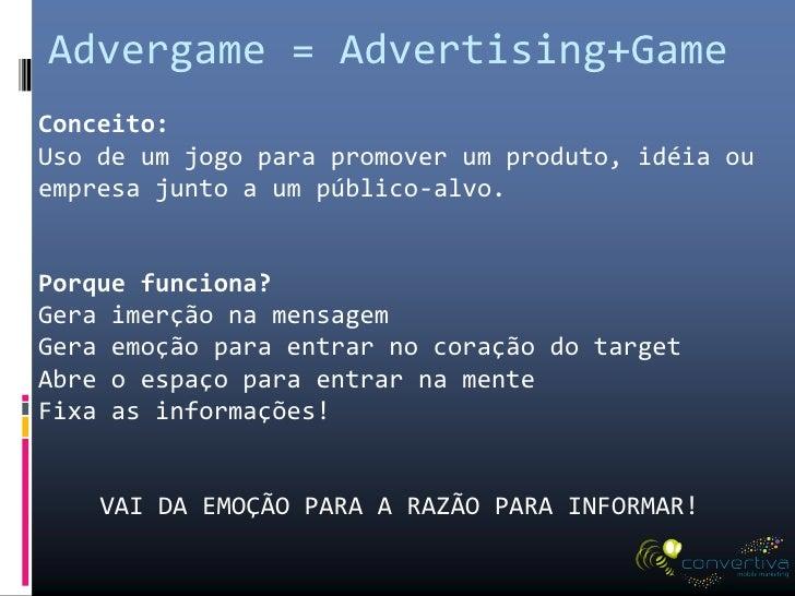 Publicidade em Games: Engajamento do Consumidor em jogos Mobile e Redes Sociais Slide 3