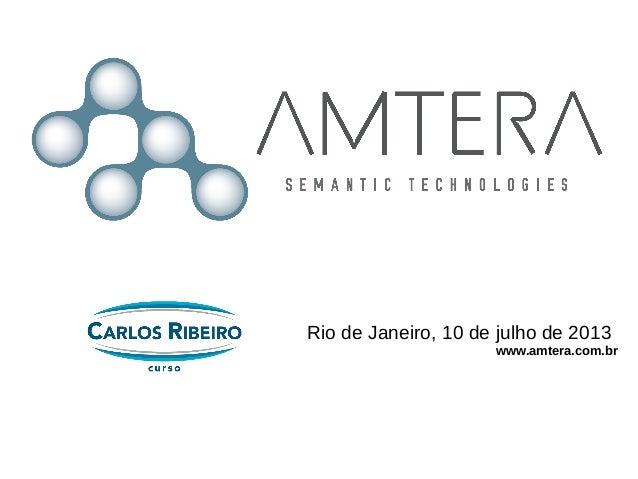 Rio de Janeiro, 10 de julho de 2013 www.amtera.com.br