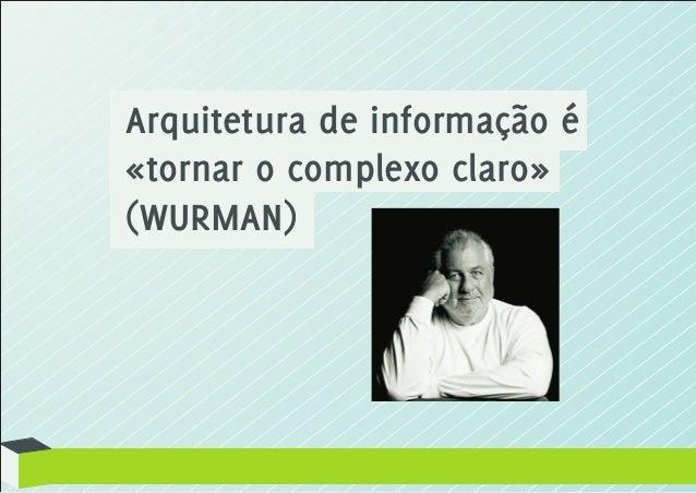 Arquitetura da Informação e Usabilidade Slide 2