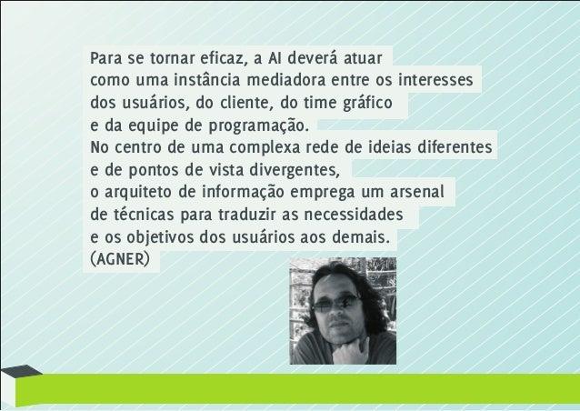 Arquitetura da Informação e Usabilidade Slide 3