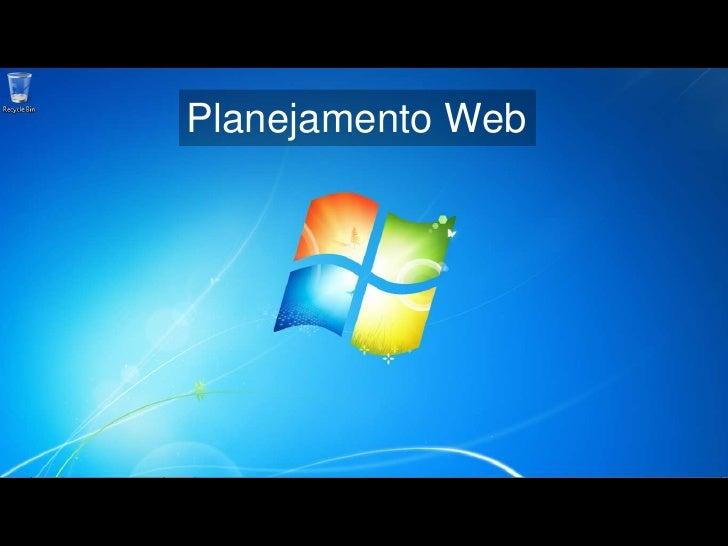 Planejamento Web<br />