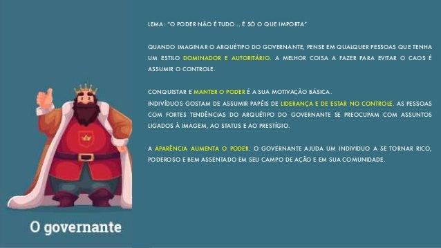 O GOVERNANTE TEM A HABILIDADE POLITICA NECESSÁRIA PARA CONQUISTAR O APOIO DOS DIVERSOS GRUPOS ENVOLVIDOS. AS MARCAS PRECIS...