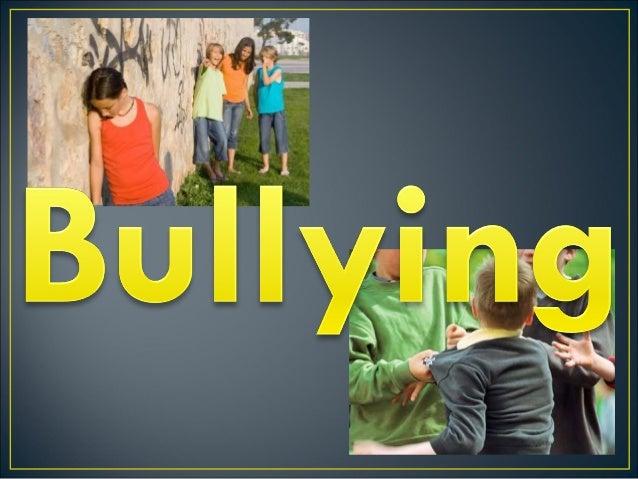 """∗O QUE É BULLYING? A palavra """"Bullying"""" é utilizada para qualificar comportamentos violentos no âmbito escolar, tanto de m..."""