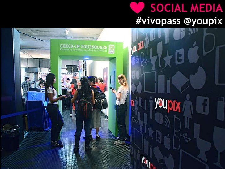 SOCIAL MEDIA<br />#vivopass @youpix<br />