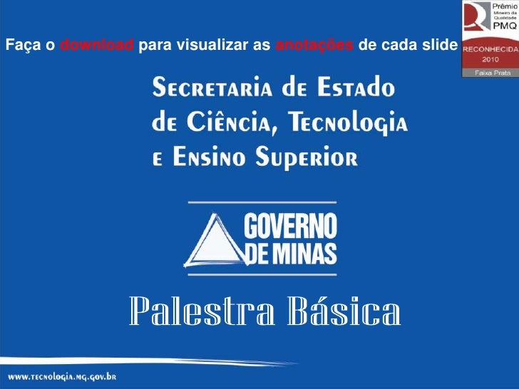 Faça o download para visualizar as anotações de cada slide                                                             1
