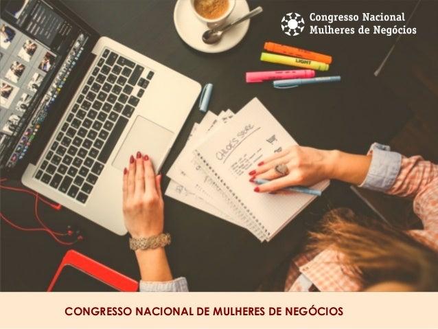 CONGRESSO NACIONAL DE MULHERES DE NEGÓCIOS