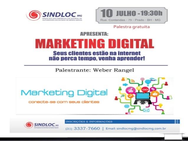 Weber Rangel -Administrador de Empresas -Gestor de Marketing de Digital -Experiência na área de Marketing, Finanças, Venda...