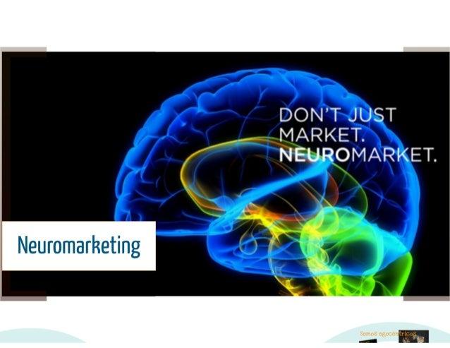 Palestra de neuromarketing Slide 2