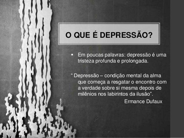 Palestra Depressão Uma Visão Espírita