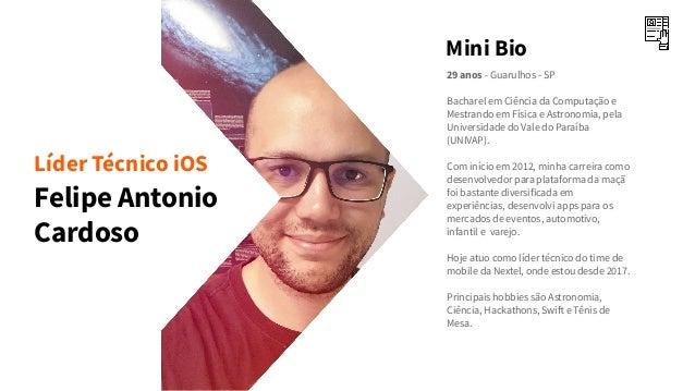 Gabriel Pacheco e Felipe Cardoso - Nextel + React Native: Lições aprendidas após quase 2 anos de desafios Slide 3