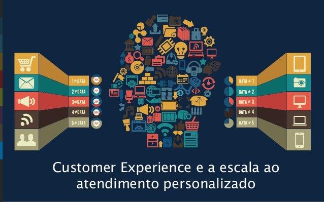 Customer Experience e a escala ao atendimento personalizado