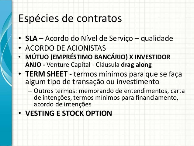 Stock options direito do trabalho