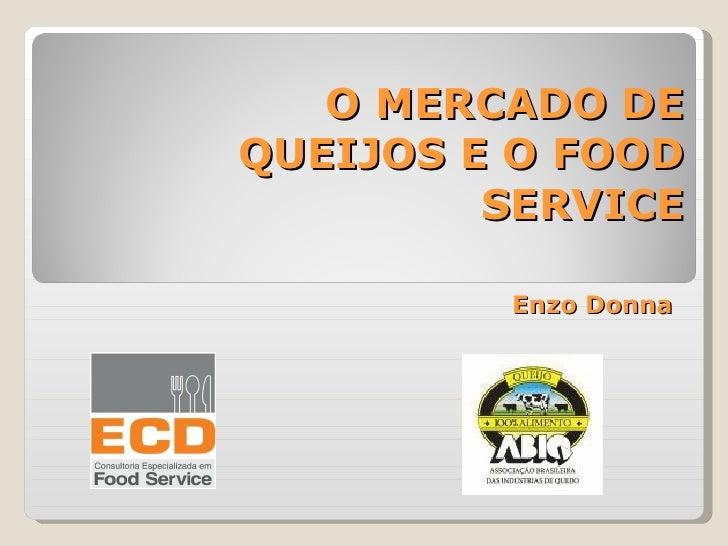 Enzo Donna O MERCADO DE QUEIJOS E O FOOD SERVICE