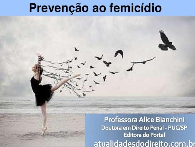 Prevenção ao femicídio