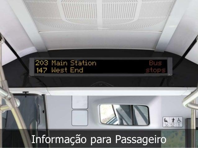 Informação para Passageiro