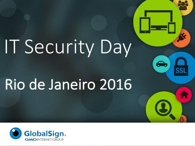 RiodeJaneiro2016 ITSecurityDay