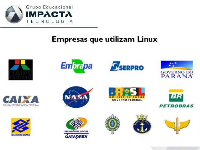 Empresas que utilizam Linux