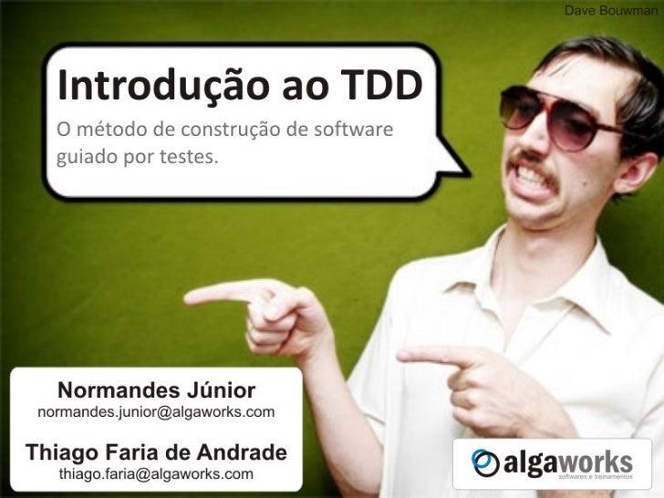 Introdução ao TDD Slide 1