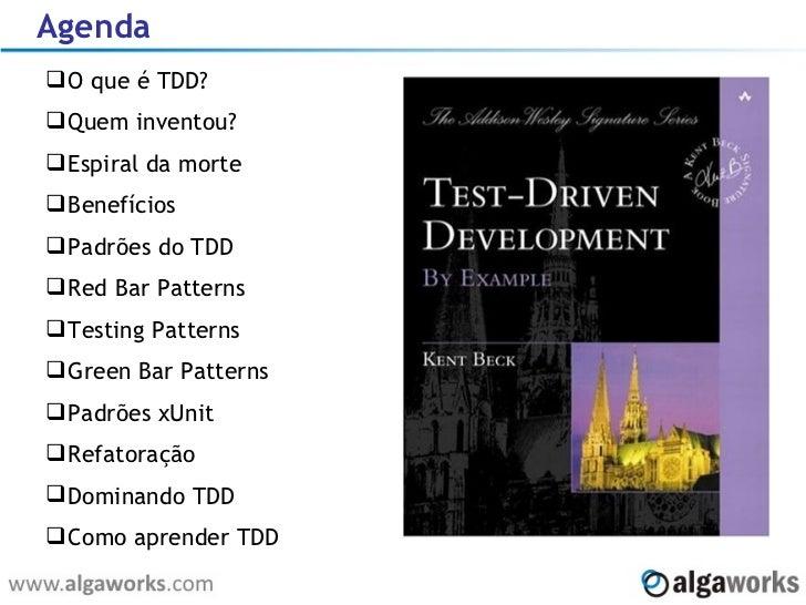 Introdução ao TDD Slide 2