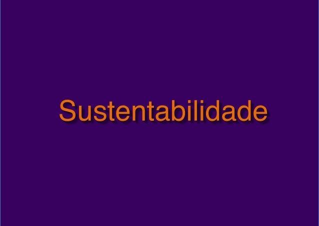 Palestra: Liderança Sustentável - Há uma versão mais nova disponível !