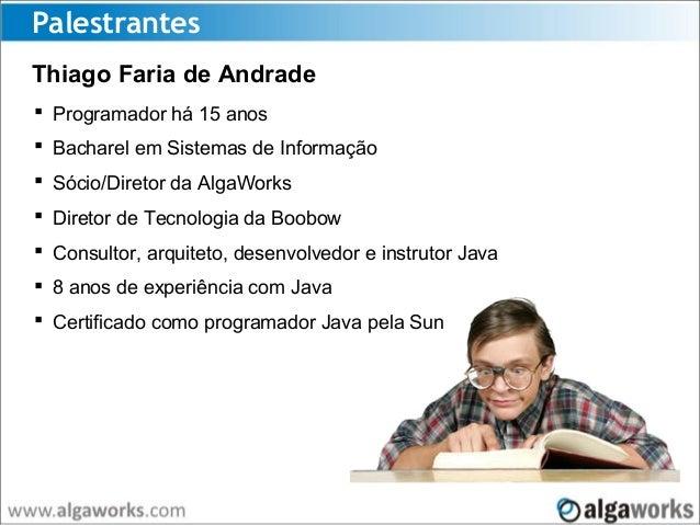 Mercado Java: como se dar bem? Slide 2