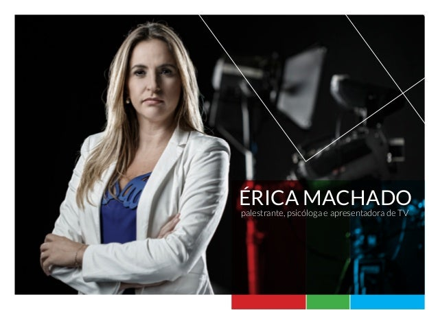 Érica Machado palestrante, psicóloga e apresentadora de TV