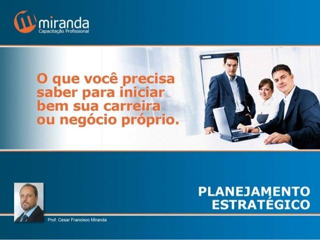 Palestra planejamento estratégico 2014
