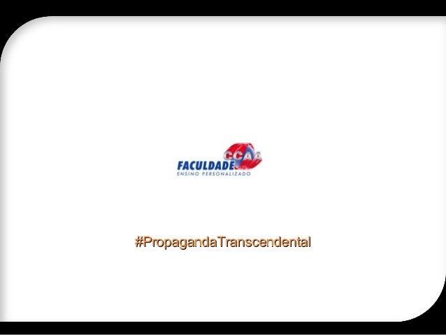 #PropagandaTranscendental#PropagandaTranscendental