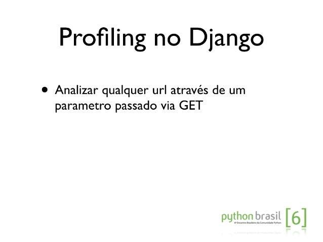 Melhorando a performance de aplicações Django