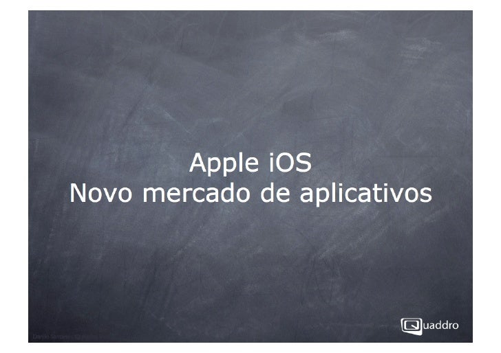 Apple IOS SDK - O novo mercado de criação de aplicativos para iPhone e iPad  - 10/09