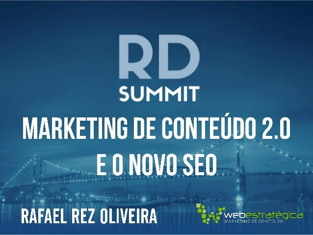  Diretor Geral Web Estratégica   MBA em Marketing pela Fundação Getúlio Vargas (FGV)   Co-Fundador do Afiliados Brasil ...