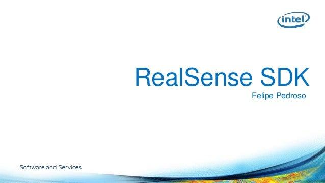 RealSense SDK  Felipe Pedroso