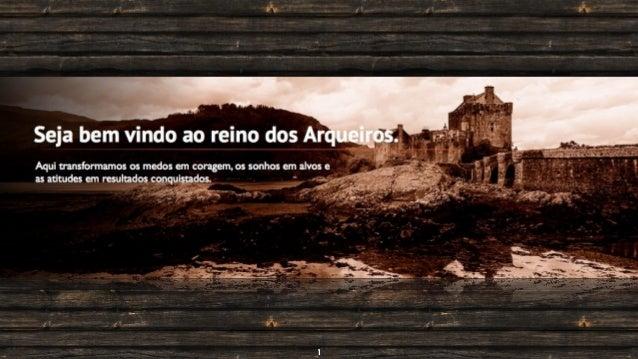 arqueiros.com.br / acerte@arqueiros | 06/2013 Minha ideia hoje é... 1
