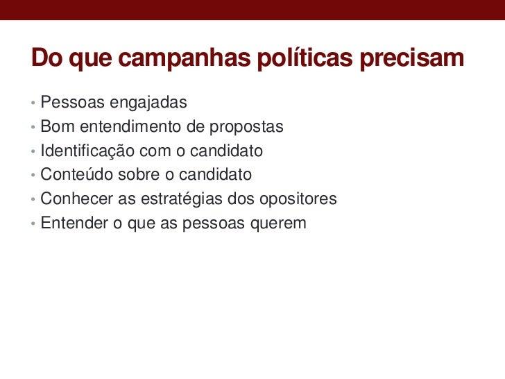 Mídias Sociais e Eleições Slide 3